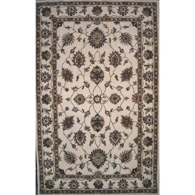 Charisma Darling Ivory Area Rug Rug Size: Rectangle 67 x 96