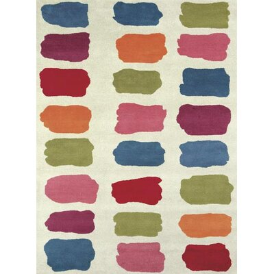 Fantasia Fan Girls Palate Area Rug Rug Size: 3 x 5
