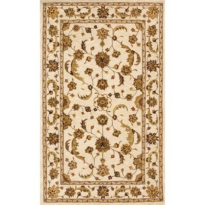 Jewel Beige Rug Rug Size: Rectangle 4 x 6