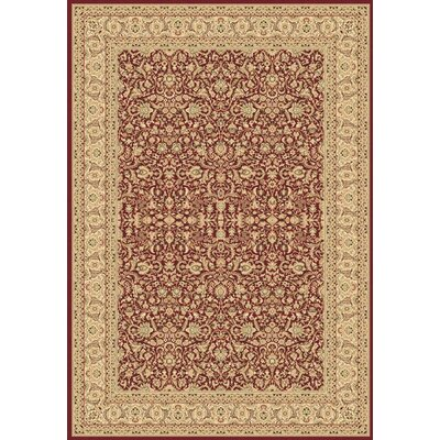 Legacy Ryefield Red Rug Rug Size: Rectangle 53 x 77