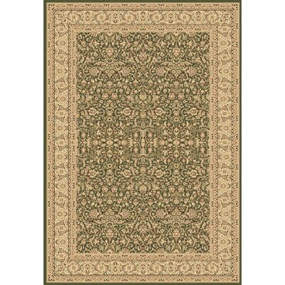 Legacy Ryefield Green Rug Rug Size: Rectangle 53 x 77