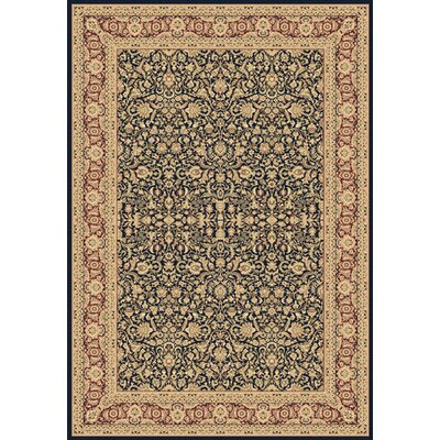 Legacy Ryefield Navy Rug Rug Size: Rectangle 53 x 77