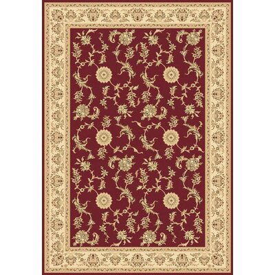 Legacy Arronwood Red Rug Rug Size: Rectangle 710 x 1010