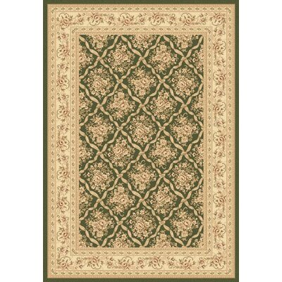 Legacy Deerfield Green Rug Rug Size: Rectangle 53 x 77