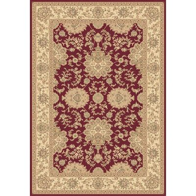 Legacy Hiram Red Rug Rug Size: Rectangle 710 x 1010