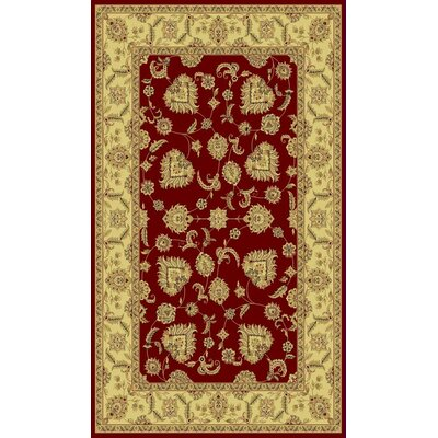 Legacy Cadwell Red Rug Rug Size: Rectangle 710 x 1010