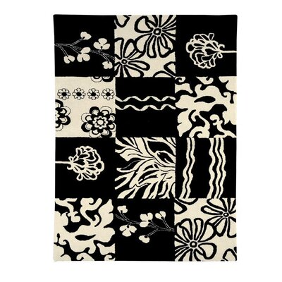 Nolita Black/White Area Rug Rug Size: Rectangle 67 x 96