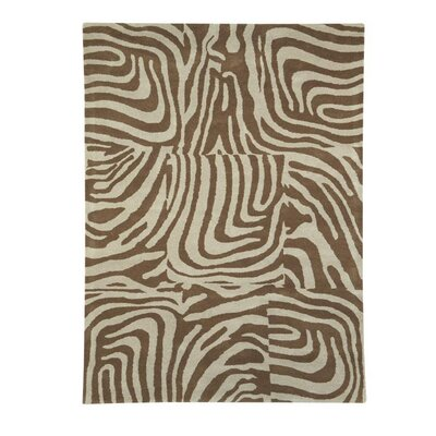 Nolita Beige / Natural Contemporary Rug Rug Size: 67 x 96