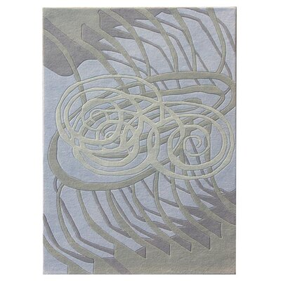 Nolita Silver/Blue Area Rug Rug Size: Rectangle 4 x 6