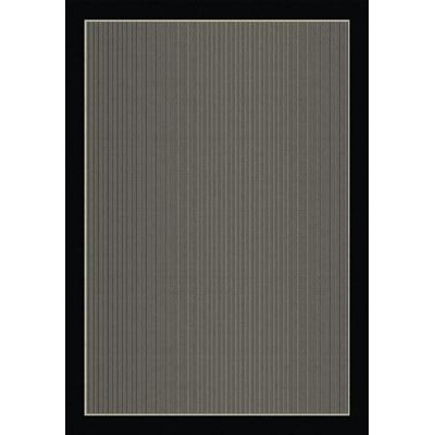 Aliyah Hubbard Black Indoor/Outdoor Area Rug Rug Size: Rectangle 53 x 77