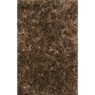 Romance Brown Area Rug Rug Size: 5 x 8