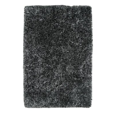 Romance Black Area Rug Rug Size: Rectangle 8 x 10