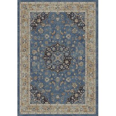 Farahan Blue Area Rug Rug Size: 67 x 96