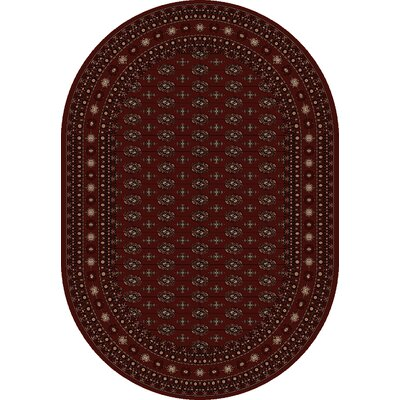 Ancient Garden Rug Rug Size: Oval 67 x 96