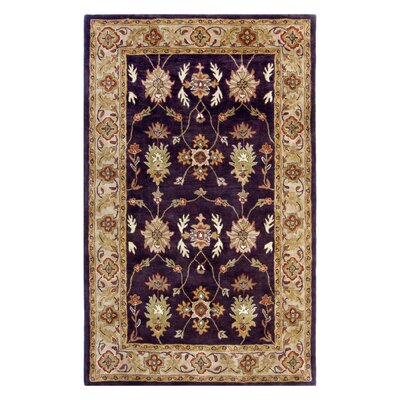 Ashtown Eggplant Area Rug Rug Size: Rectangle 5 x 8