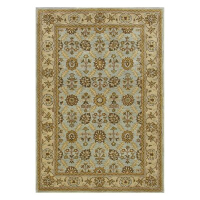 Charisma Blue / Ivory Area Rug Rug Size: Rectangle 8 x 11