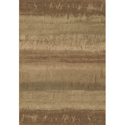 Eclipse Tan/Sage Area Rug Rug Size: 53 x 77