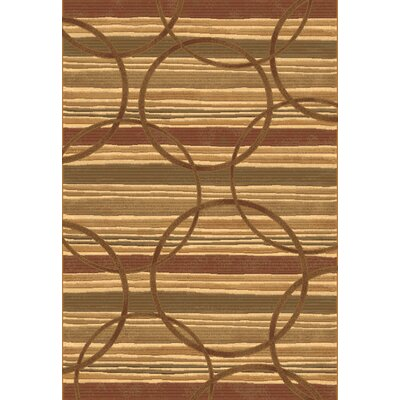 Eclipse Beige Area Rug Rug Size: Rectangle 710 x 1010