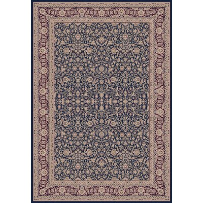 Legacy Navy Rug Rug Size: Runner 22 x 71