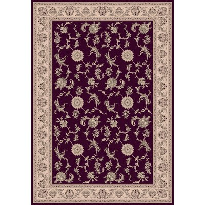 Legacy Red Rug Rug Size: Rectangle 67 x 96