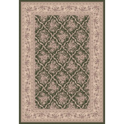 Legacy Persian Green Rug Rug Size: Rectangle 67 x 96