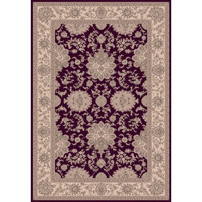 Legacy Floral Red Rug Rug Size: Runner 22 x 71