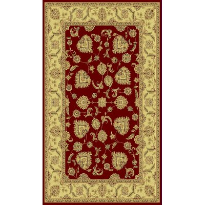 Legacy Mahal Red Rug Rug Size: Rectangle 67 x 96