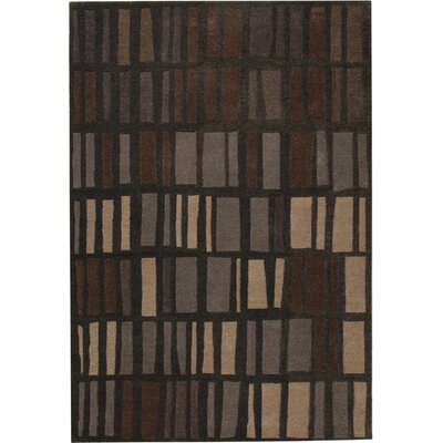 Odyssey Charcoal Rug Rug Size: Rectangle 5' x 8'