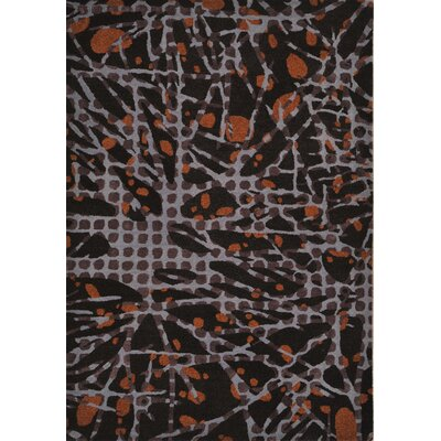 Odyssey Chocolate Rug Rug Size: Rectangle 4 x 6
