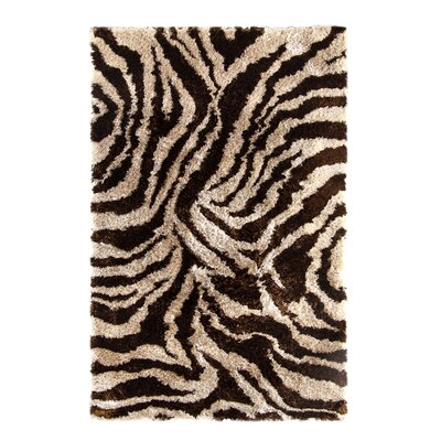 Safari Beige/Brown Rug Rug Size: Rectangle 8 x 10