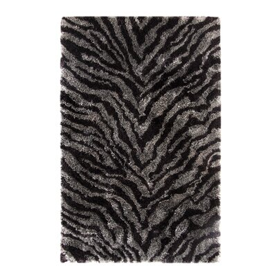 Safari Mauve/Silver Rug Rug Size: Rectangle 8 x 10