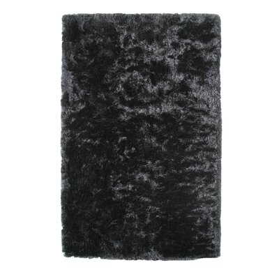 Kailyn Ash Black Area Rug Rug Size: 3 x 5