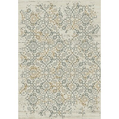 Kingston Cream Area Rug Rug Size: Runner 22 x 78