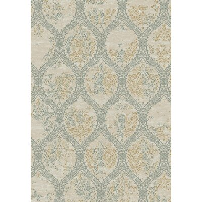 Kingston White Area Rug Rug Size: 2 x 36