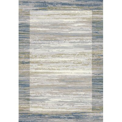 Eclipse Blue Area Rug Rug Size: Rectangle 68 x 97