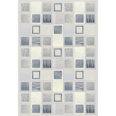 Eclipse Cream Area Rug Rug Size: 31 x 58