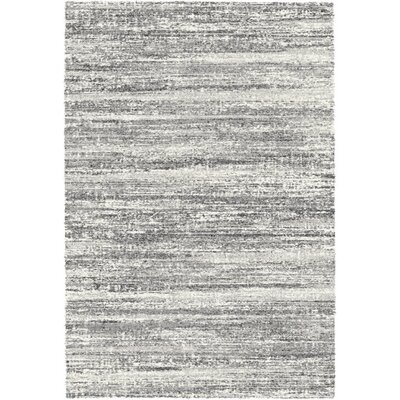 Brycen Black / White Area Rug Rug Size: 67 x 96