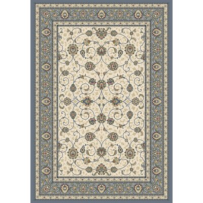 Ancient Garden Area Rug Rug Size: Rectangle 53 x 77