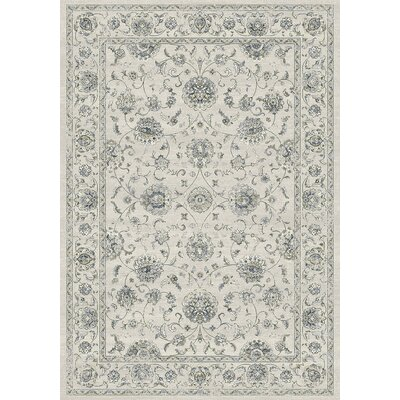 Ancient Garden Cream Area Rug Rug Size: Runner 22 x 77
