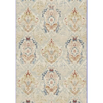 Essence Ivory Area Rug Rug Size: Rectangle 53 x 77