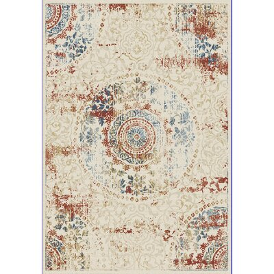 Essence Ivory Area Rug Rug Size: Rectangle 2 x 311