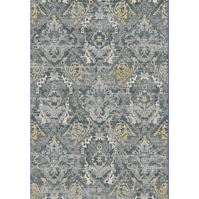 Essence Dark Gray Area Rug Rug Size: Rectangle 53 x 77