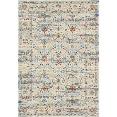 Essence Ivory Area Rug Rug Size: Rectangle 92 x 1210