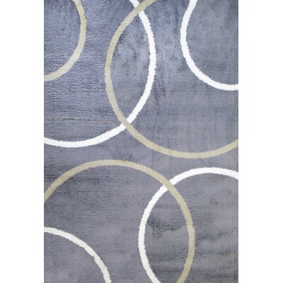 Silky Shag Area Rug Rug Size: Rectangle 53 x 77