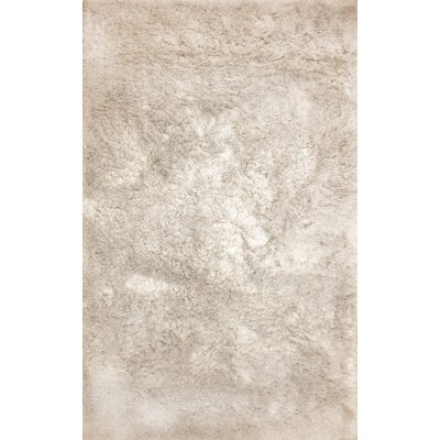 Luxe Beige Area Rug Rug Size: Rectangle 10 x 14
