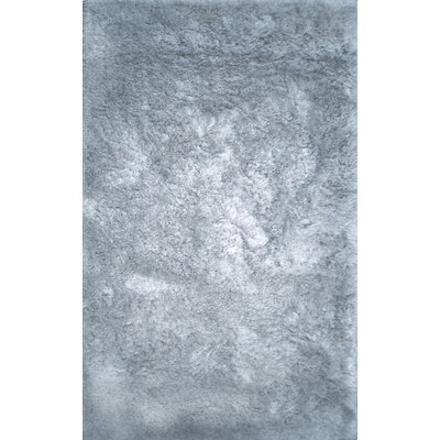 Luxe Blue Area Rug Rug Size: Rectangle 8 x 10