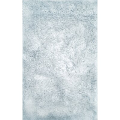 Luxe Tufted Light Ice Indoor Area Rug Rug Size: Rectangle 10 x 14