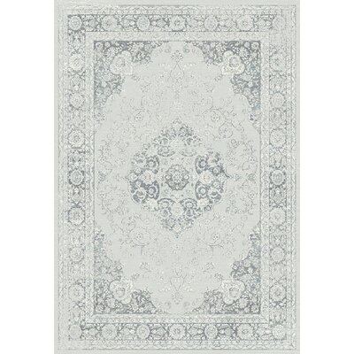Utopia Gray Area Rug Rug Size: Runner 22 x 77