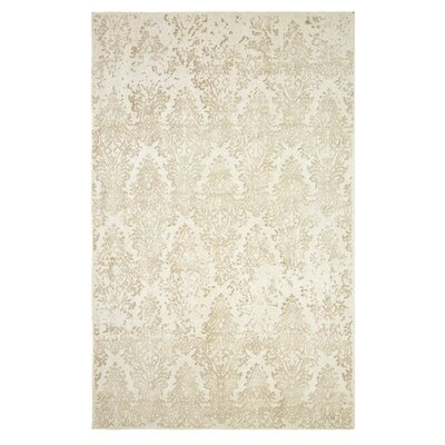 Gerry Hand-Woven Beige Area Rug Rug Size: Rectangle 5 x 8