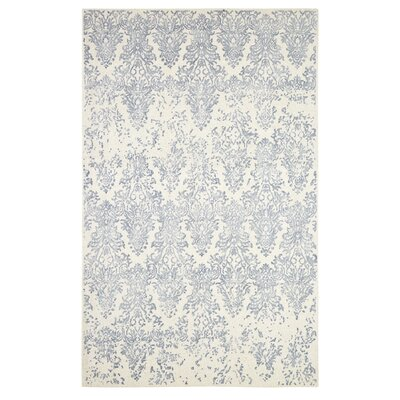 Gerry Hand-Woven Beige/Gray Area Rug Rug Size: Rectangle 8 x 11